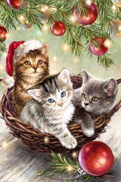 Anciennes images de Noël : j'adore !