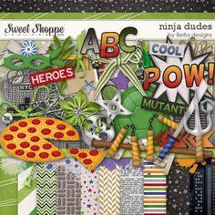 Ninja Dudes by lliella designs @ Sweet Shop Designs