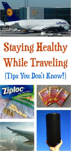 Healthy Travel Snacks and Easy Tips to Stay Healthy on the Plane and Road Trips! | NeverEndingJourneys.com