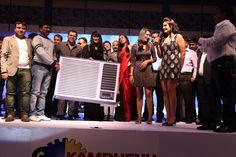 Award ceremony organised by Kamdhenu paints