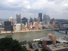 """IF YOU COME TO PITTSBURGH-GET UP TO """"MOUNT WASHINGTON"""" FOR THIS VIEW!"""