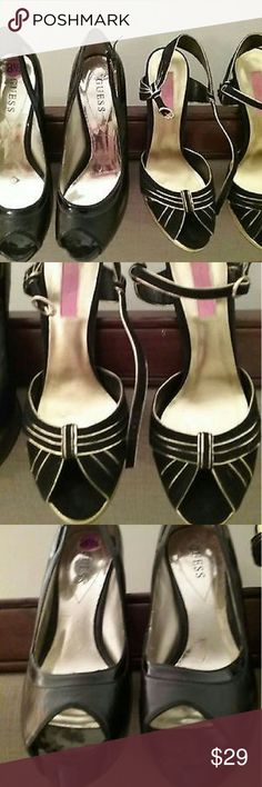 Betsy J.& Guess Heels Toghter Ready to Wear super condition Shoes Heels