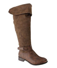 $41 Pierre Dumas Brown Emerson Boot on zulily 13 dec!