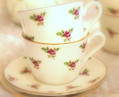 Real estate, House and Home: Soft and Romantic Tea Time