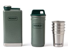 Stanley Stainless Steel Shots   Flask Gift Set