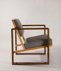 'Club Chair from Oeser's home' by Josef Albers, 1928. Photograph: Fotostudio Barsch © VG Bild-Kunst, Germany, from the Bauhaus-Archiv Berlin
