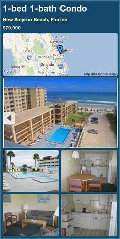 1-bed 1-bath Condo in New Smyrna Beach, Florida ►$79,900 #PropertyForSale #RealEstate #Florida http://florida-magic.com/properties/9119-condo-for-sale-in-new-smyrna-beach-florida-with-1-bedroom-1-bathroom