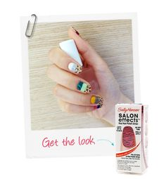 Outrageous nails made wearable. Try bands of color this summer @GloMSN http://glo.msn.com/beauty/outrageous-nails-made-wearable-8370.gallery?photoId=108683