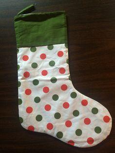 Cotton Christmas Stockings | R.K. Renee