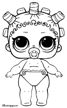 lol surprise dolls coloring pages lil cosmic queen | felt