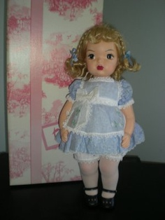 Terri Lee doll.  I had this doll and this dress.  Great touching memories.