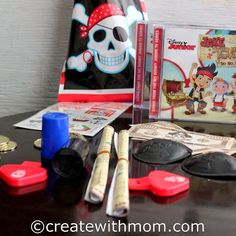 Disney Junior Jake and The Never Land Pirates Yo Ho Matey Party http://www.createwithmom.com/2013/10/jake-and-never-land-pirates-yo-ho-matey.html #disney