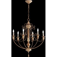 Quorum Salento 6 Light Chandelier & Reviews | Wayfair