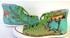 Dr. Seuss Shoes Dr. Seuss High-top Painted Canvas Shoes 3e3b3faa0