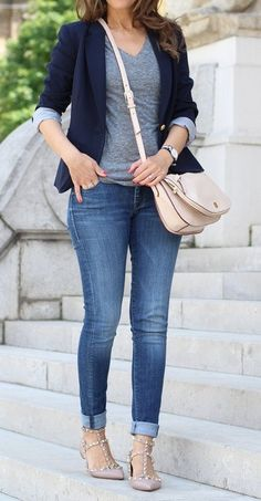 Business Casual Outfits For Women, Casual Work Outfits, Classy Outfits, Fall Outfits, Cute Outfits, Fashion Outfits, Fashion Tips, Looks Chic, Casual Looks