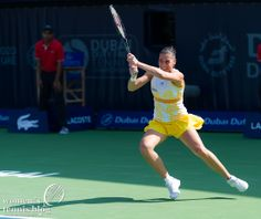 Flavia Pennetta at the 2014 Dubai Duty Free Tennis Championships