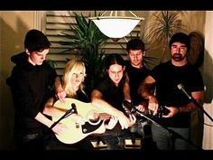 "Five People Use One Guitar To Cover A Song  The song is ""Somebody That I Used To Know"" and the video is so, so awesome."