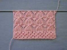 Cómo hacer un modelo de punto de corazones invertidos - Örgü Modelleri Baby Knitting Patterns, Knitting Stiches, Knitting Charts, Lace Knitting, Knitting Designs, Baby Patterns, Stitch Patterns, Crochet Patterns, Crochet Baby
