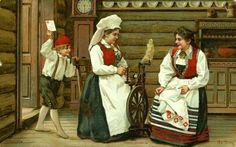 Bunadskort Aa Stray brukt Tidlig 1900-tallet