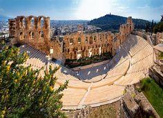 La Acrópolis de Atenas · National Geographic en español. · ODEON DE HERODES ATICO