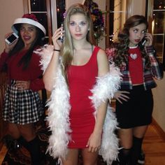Clueless girls - Dionne, cher, and Ty !! Fave costume!