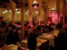 Orlando, Disney World - Restaurant Marrakesh