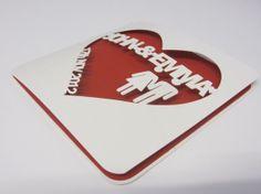 Wedding or anniversary papercut personalised card