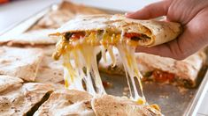 Hack Alert! These Sheet Pan Quesadillas Are BrilliantDelish