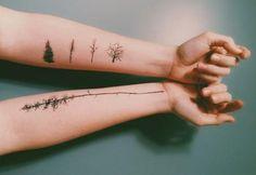 tatouages originaux pour les amateurs de nature
