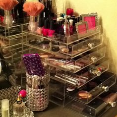 My makeup cube...don't know HOW I survived without this!