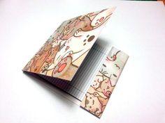 Mini libro notebook notepad quaderno tascabile di OkkinoShop su DaWanda.com