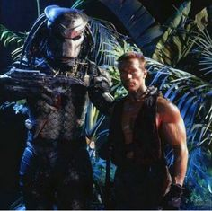 Kevin Peter Hall as the Predator.  Oh, and Arnold. Sci Fi Movies, Fantasy Movies, Predator, Watches Online, Adventure, Fictional Characters, Adventure Movies, Fantasy Characters, Adventure Nursery