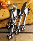 Another Fleur De Lis Flatware set.