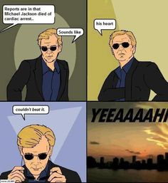 I will miss you Horatio Caine #CSIMiami
