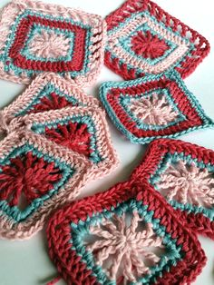 Mindful crochet pattern for craftastherapy