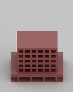 Billedresultat for Johannes Norlander A Maquette Architecture, Paper Architecture, Architecture Design, Architectural Sculpture, Architectural Models, Architectural Drawings, Model Sketch, 3d Modelle, Arch Model