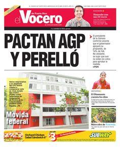 Edición 22 de Abril 2015  El Vocero de Puerto Rico