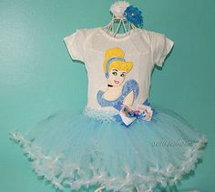 Cinderella Tutu Cinderella Dress Cinderella by SewsnBows on Etsy