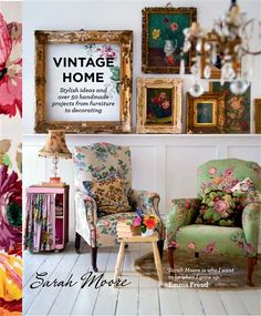 Vintage Home by Sarah Moore | Sarah Moore | The Great Interior Design Challenge season 1 winner (2014)