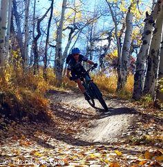 Frank Konsella mountain biking in Snowmass.