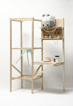 The Stool production unit by Thomas Vailly