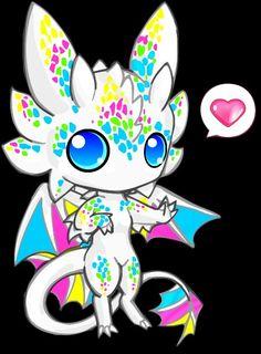 chibi dragon!! ^_^