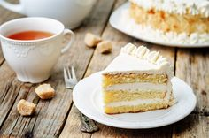 Horlicks Buttercream Sponge Cake