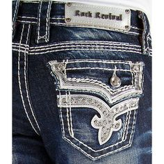 I love to wear my rock revival jeans. Probably only jeans I wear