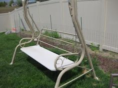 Recycle Old Patio Swing Chair Into New Wooden One | Patio ...
