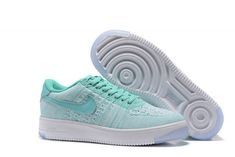 Nike Air Force 1 Low Upstep BR W shoes blue turquoise