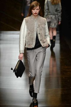 Trussardi Fall 2014 Ready-to-Wear Collection Slideshow on Style.com