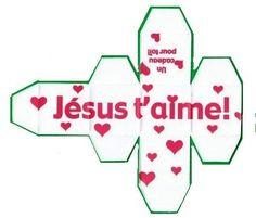 Bricolale le cube Jésus t'aime                              …