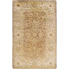 Art of Knot Sylvania Wool Area Rug, Beige