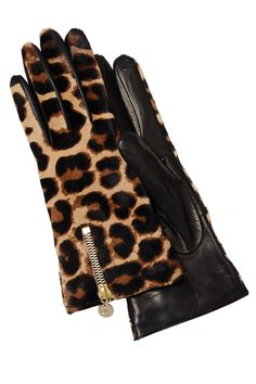 Tech Gift Guide: The Chicest Gadgets To Give | Diane Von Furstenberg tech gloves, $268
